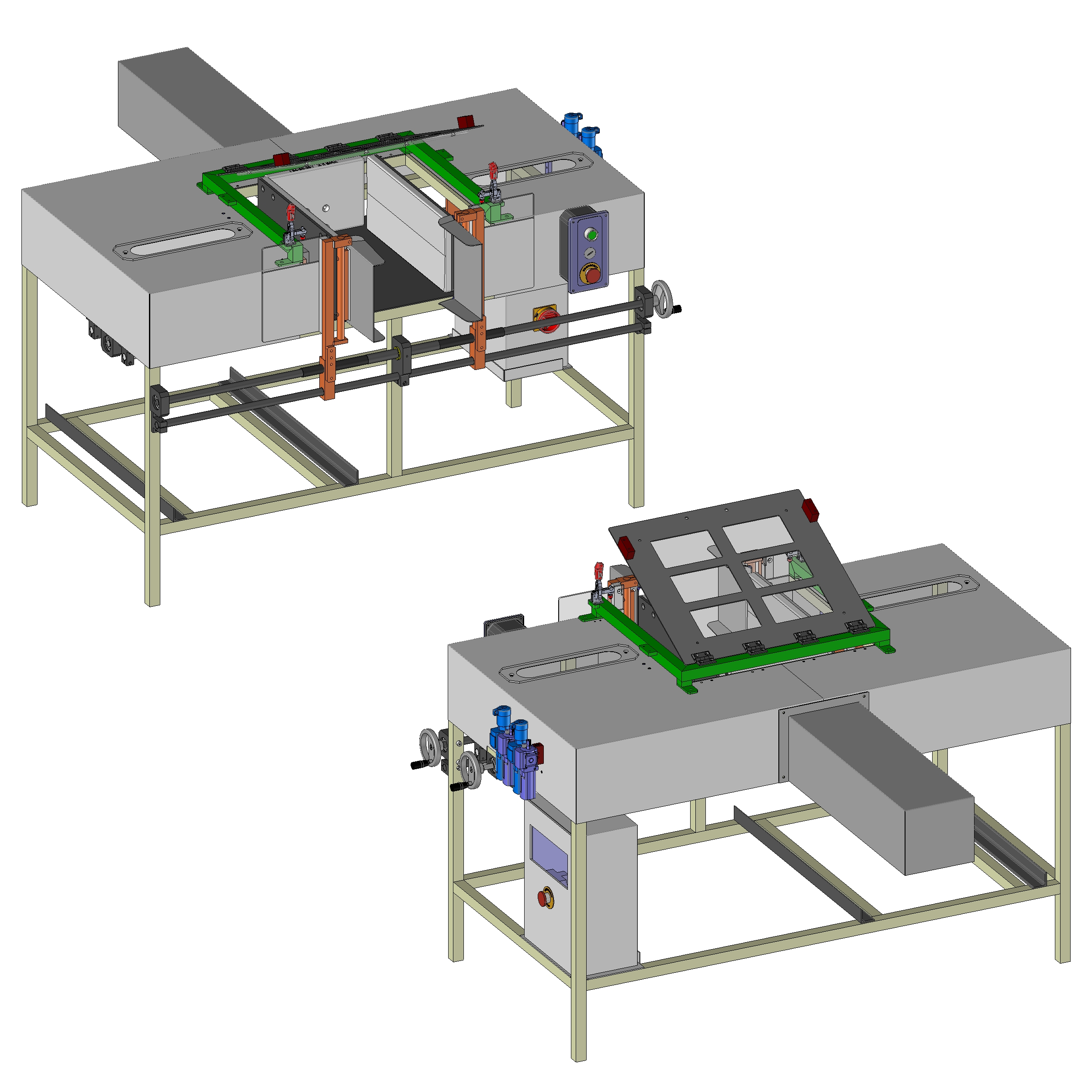 Professional Two Row Manuel Diaper Packing Machine3