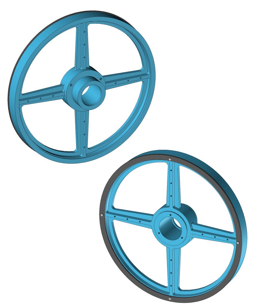 Omet Band Knife Pulley