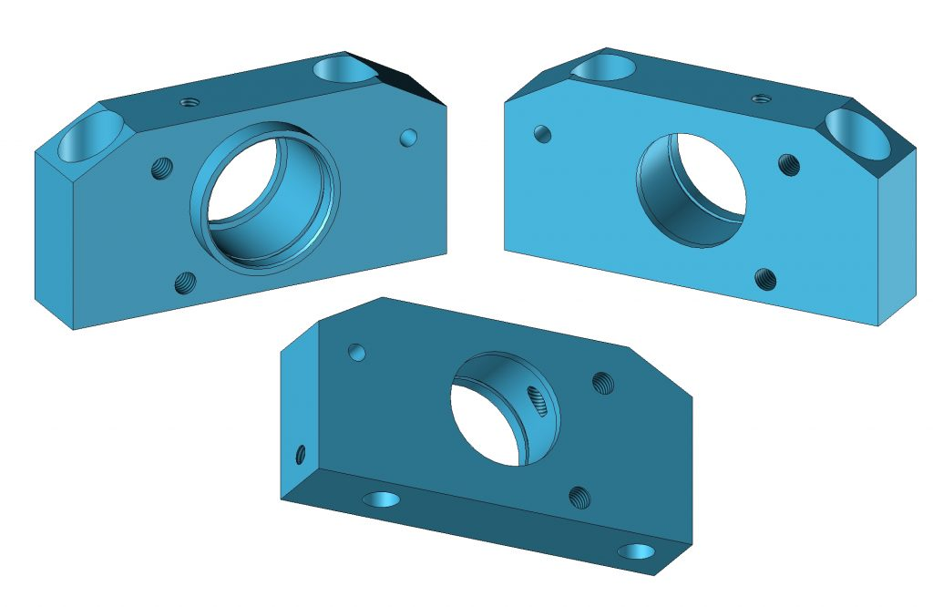 Omet Spindle Folding Flap Housing